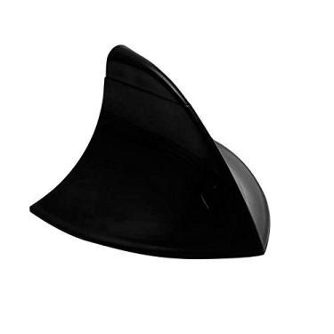 Antena Shark Tubarão Decorativa De Teto Tuning Preta