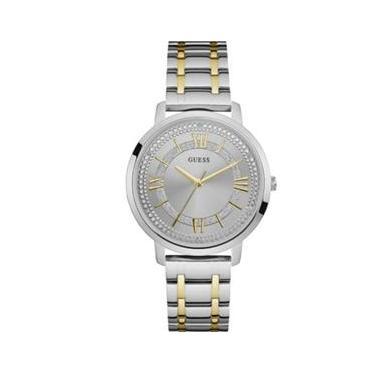 7f6d207eb49 Relógio masculino GUESS bicolor analógico 92635LPGDBA7