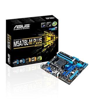 Placa-Mãe Asus M5A78L-M PLUS/USB3 AMD AM3+ DDR3 Micro ATX