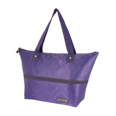 Bolsa Expansivel Tam. G Damasco Jacki Design Essencial II Roxo  feminino