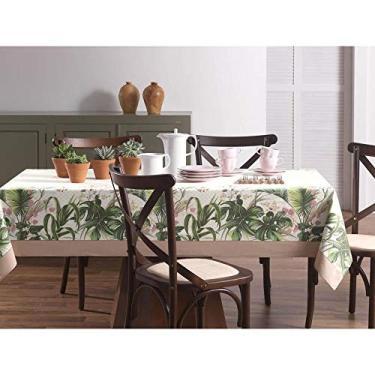 Imagem de Toalha de Mesa Retangular Silvestre Floral 140x210cm 6 lugares Karsten