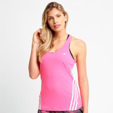 Camiseta Regata Adidas Ess Clima 3S LW - Feminino 08d7ffaa81474