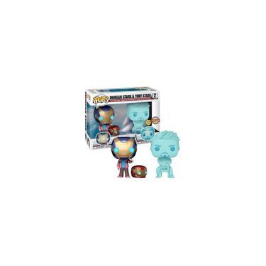 Imagem de Funko Pop! Marvel: Morgan Stark & Tony Stark (2 Pack) 54327