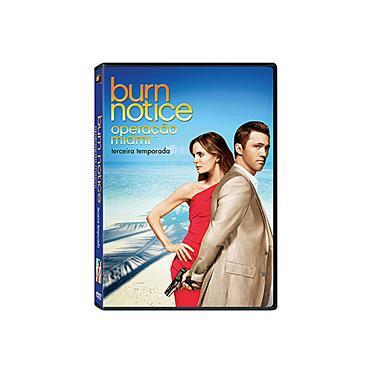 Box Burn Notice - Operação Miami - 3ª Temporada - 4 DVDs