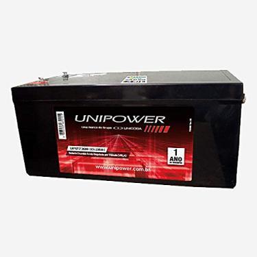 Bateria Selada 2V 2.3 A, Unipower, Preto