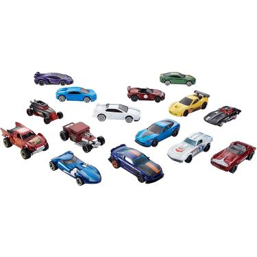 Imagem de Hot Wheels Variety Fun 5 Pack Bundle de 15 1:64 Veículos em Escala com 3 Temas Corvette, HW Exotics, HW Legends for Collectors & Kids 3 Years Old & Up [Amazon Exclusive]