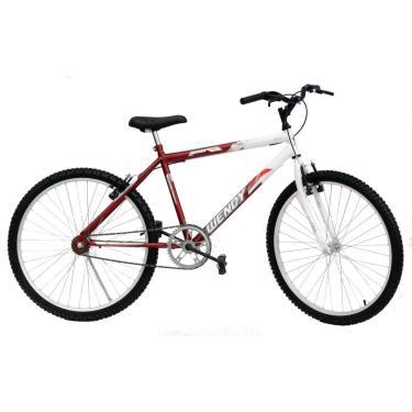 Bicicleta Aro 26 Wendy Masc S/Marcha Convencional Cor Vermelho
