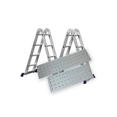 Escada Alumínio Articulada Multifuncional 4X4 - 4,71 m c/ Plataforma (Mor)