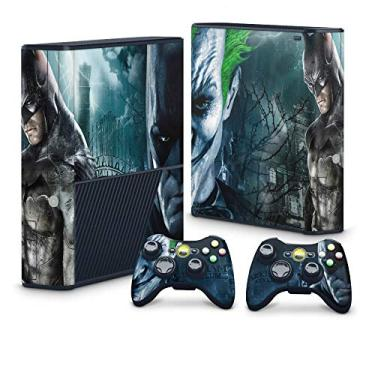 Skin Adesivo para Xbox 360 Super Slim - Batman Arkham Asylum