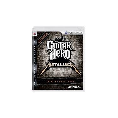 Jogo Guitar Hero Metalica Ps3