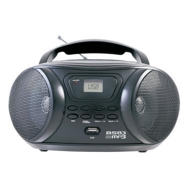Boombox Áudio Bs83 Mp3 Usb Britânia Bivolt