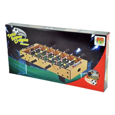 Imagem de Jogo Mesa Pebolim Totó Super Craque Master DM Toys DMT5752