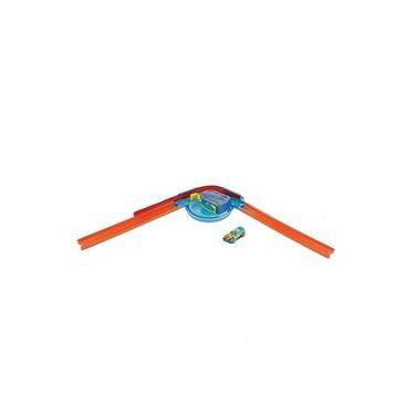 Imagem de Pista de Percurso e Veículo - Hot Wheels - Track Builder - Curva - Mattel