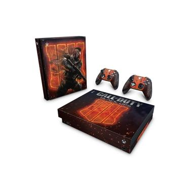 Skin Adesivo para Xbox One X - Call Of Duty Black Ops 4