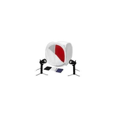 Imagem de Foto Still Mini Estudio Iluminador LED 110v + Tenda Difusora