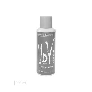 1a06f4f94 Desodorante UDV For Men 200ml Ulric de Varens 48190 masculino