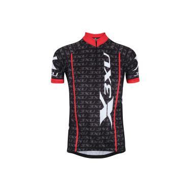 Camisa de Ciclismo Refactor 3XU Multiplied - Masculina - PRETO VERMELHO  Refactor 0608f4da2c9