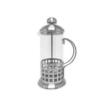 Imagem de Prensa Francesa Cafeteira Cremeira 600 ml. vidro inox manual