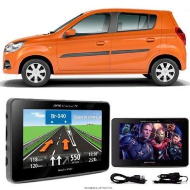 Navegador Gps Automotivo SUZUKI K10 Tela 4,3 Touch Voz C/TV FM Oferta