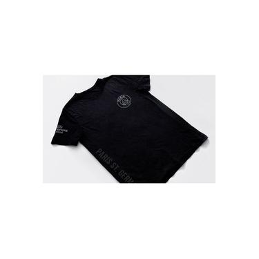 camisa Time PSG Blusa Paris Saint Germaint Camiseta preta masculina 2018