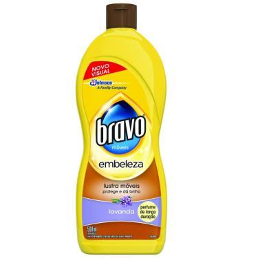 Lustra-Móveis Bravo Brilho Prático Lavanda 500ml