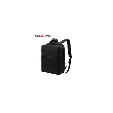 Kingslong 14 polegadas Moda Grande Capacidade Backpack Notebook Laptop Bag Ombro-F