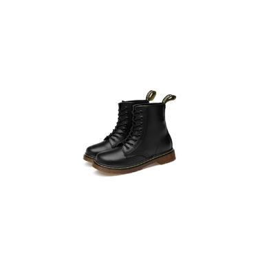 Imagem de Botas 1460 confortáveis Botas de couro com 8 furos Botas masculinas e femininas botas de cano médio