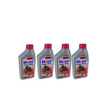 Kit Troca Oleo 4 Tempos Mobil Semi-Sintetico Mx 10w30 + Filtro Oleo Hornet Fram Ph6017