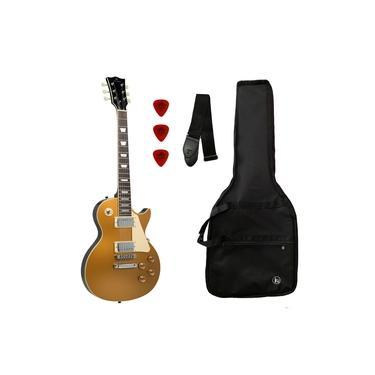Imagem de Guitarra Michael Les Paul GM750N GD Gold Top C/ Bag Correia
