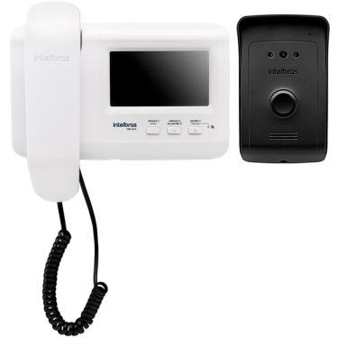 """Imagem de Vídeo Porteiro Intelbras IVR 1010 Monitor 4.3"""" Branco"""