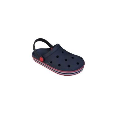 Crocs Babuche Casual Infantil Menino Colorido Mar E Cor 198-0005