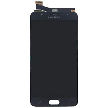Display LCD Tela Touch Samsung J7 Prime G610 Sm-g610m 5.5 Preto C/Ajuste de Brilho Primeira Linha Promoção Imperdivel (Preto Black)
