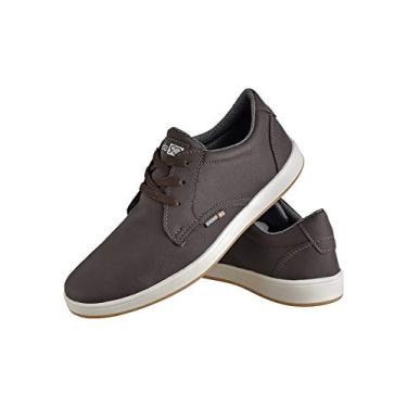 Sapatênis Casual Masculino Cadarço CR Shoes Marrom