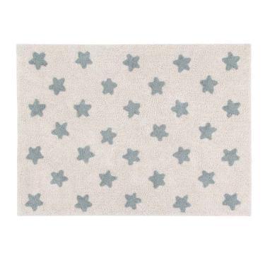 Tapete Lorena Canals 120x160 – Estrelas Azul Vintage