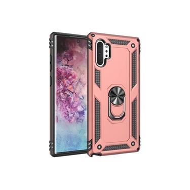 Capa Samsung Galaxy Note 10+ / Note 10 Pro / (Tela 6.8) - Skudo Defender 3 Anti Impacto + Anel Segurança Magnético