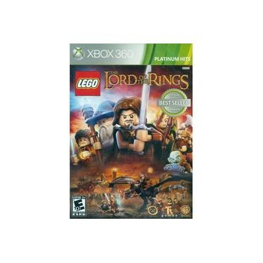 Game Lego The Lord Of The Rings (O Senhor dos Anéis) - Xbox 360