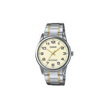 00a48ed7971 Relógio Casio Collection Analógico Feminino Ltp-V001sg-9budf