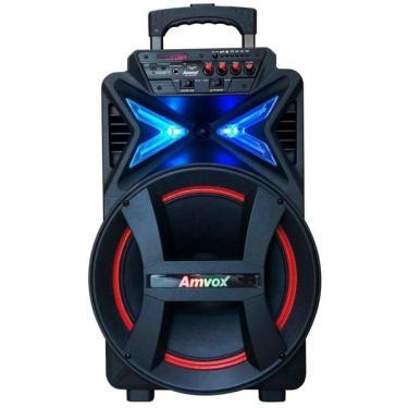 Caixa Amplificada Amvox Bluetooth Usb Aca292