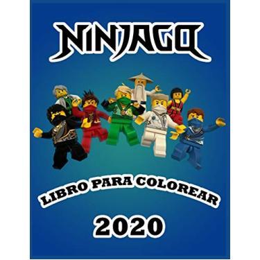 Ninjago Libro Para Colorear 2020: 50 divertidas páginas para colorear sobre NINJAGO Books for Boys Girls Kid: páginas nuevas y más recientes en alta calidad y premium.