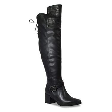 Bota Over The Knee Bottero Feminino 300604 Croco