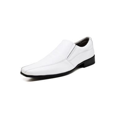 Imagem de Sapato Social Masculino Esporte Fino Go Well Shoes Branco