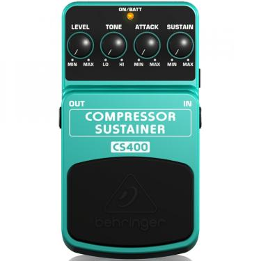 Pedal Compressor Sustainer CS400 - Behringer
