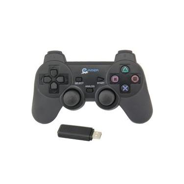 Controle Sem Fio Wireless Usb Ps2 Para Computador Notebok