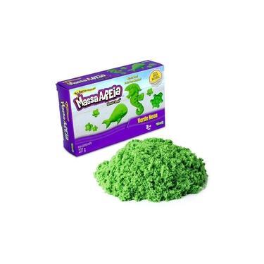 Imagem de Massa Areia Cores Neon - Verde - Sunny