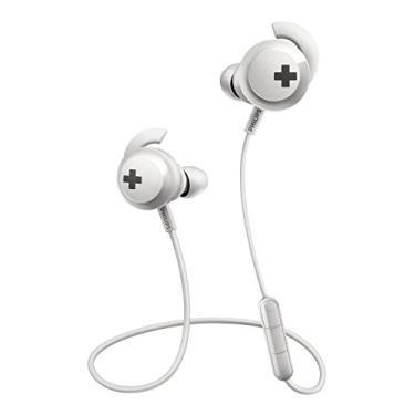 Fone de Ouvido Philips SHB4305WT com Bluetooth e Microfone - Branco