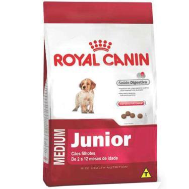 Ração Royal Canin Medium Puppy para Cães Filhotes de Raças Médias de 2 a 12 Meses de Idade - 15 Kg