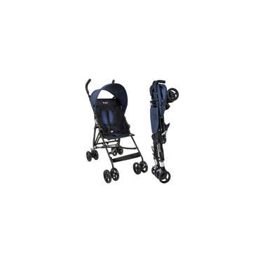 Imagem de Carrinho de Bebê Guarda-Chuva Burigotto Oi Blue Black A Partir de 6 Meses Até 15Kg
