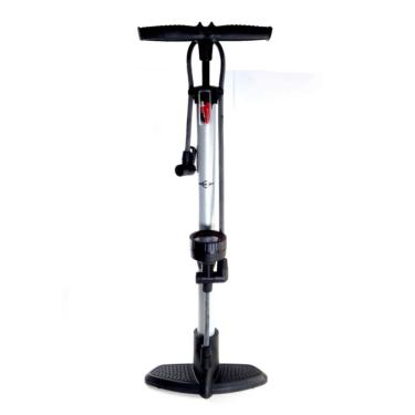 Bomba De Ar Vertical Manual Premium Pneu Bicicleta Brasfort