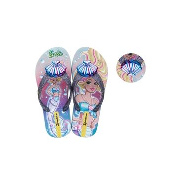 Chinelo Barbie Sereia Ipanema Azul 018286