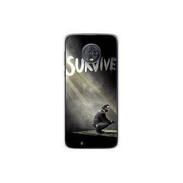 Capa para Moto G6 Play - The Walking Dead   Survive